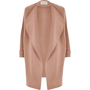 Jacke in dunklem Pink