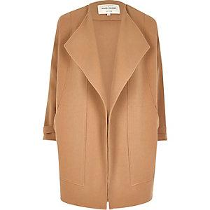 Light brown fallaway jacket