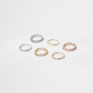 Mixed tone rings pack