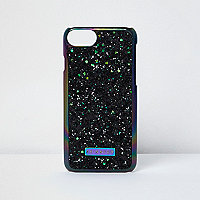 Black IPhone 7 glitter case