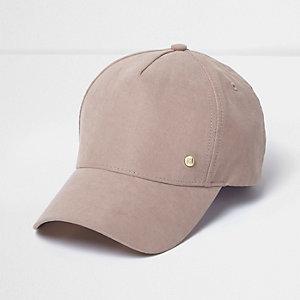 Blush pink cap