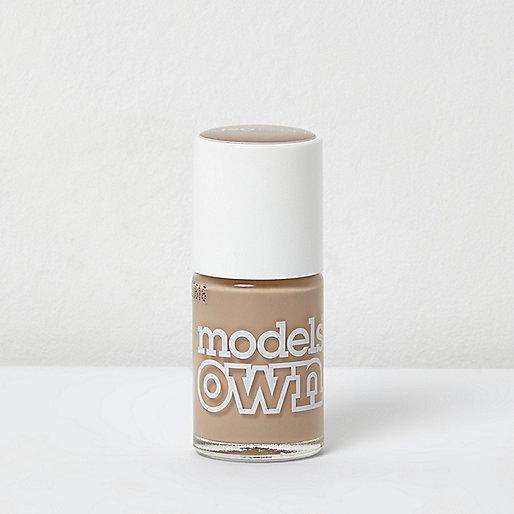 Models Own nude nail polish