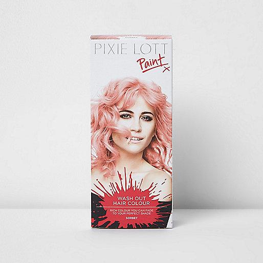 Couleur éphémère pour les cheveux sorbet rose Pixie Lott