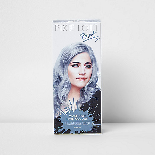Blue Hawaii Pixie Lott wash out hair colour