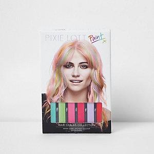 Pixie Lott hair chalks collection