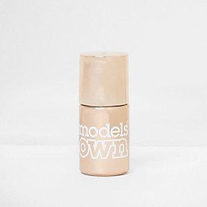 Model's Own copper chrome nail polish