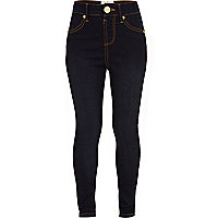 Girls dark blue jeggings