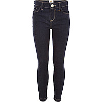 Girls dark blue skinny jeans