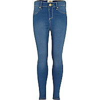 Girls blue jeggings