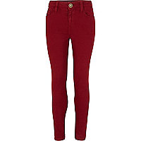 Girls purple skinny jeans