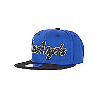 Girls blue Los Angeles trucker hat