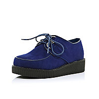 Girls blue creepers