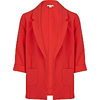 Girls coral blazer