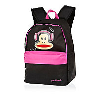Girls pink Paul Frank DJ monkey rucksack