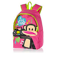 Pink Paul Frank Boom Box Bag