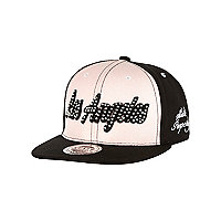 Girls pink glitter Los Angeles trucker hat