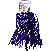 Girls purple Scoot streamers