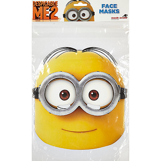 Kids yellow Despicable Me mask