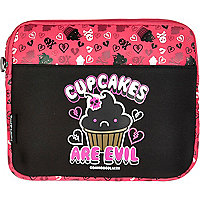 Girls pink cupcakes tablet case
