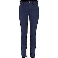 Girls dark denim popeye indigo skinny jean