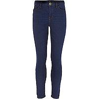 Girls dark denim popeye indigo skinny jean