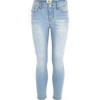 Girls light denim skinny Miami jeans