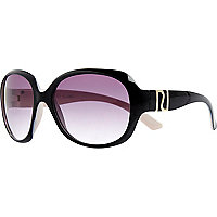 Girls black glam sunglasses