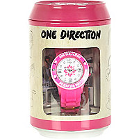 Girls pink One Direction watch