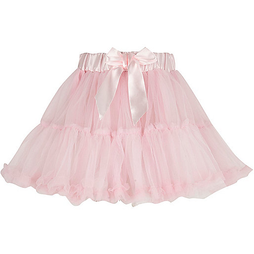 Girls pink dress up tutu skirt