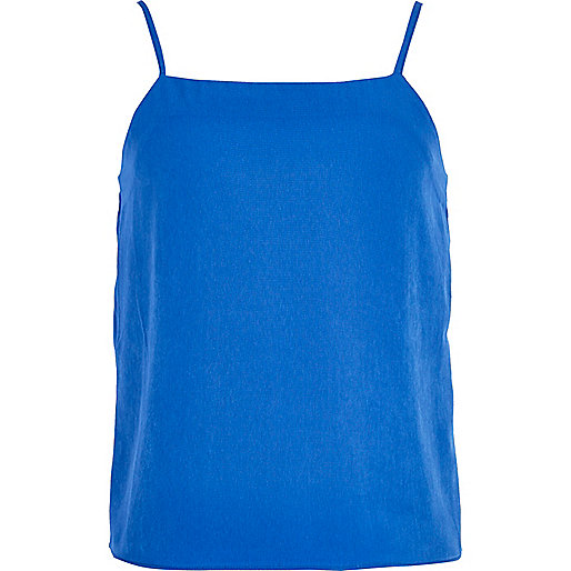 Girls blue cobalt cami