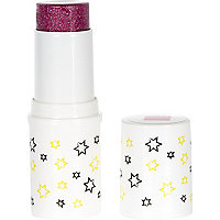 Girls pink chubby glitter stick