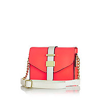 Girls bright pink crossbody bag