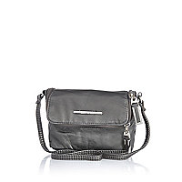 Girls grey crossbody bag