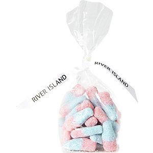 Girls fizzy bubblegum bottle sweets