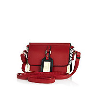 Girls red crossbody bag
