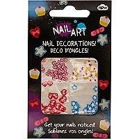 Girls nail art decorations