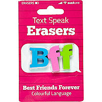 Girls BFF eraser