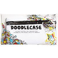 Girls Doodlecase customisable pencil case