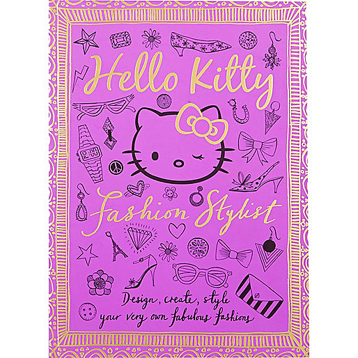 Girls purple Hello Kitty book