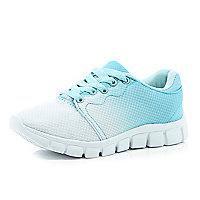 Girls blue fade out runner