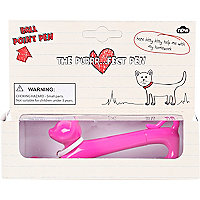 Kids pink cat pen