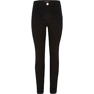 Girls black Molly jegging