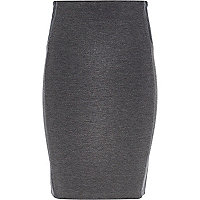 Girls grey tube skirt