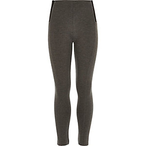 Girls grey leggings