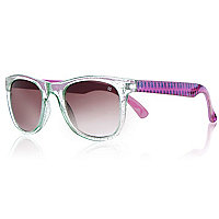 Girls glitter frame sunglasses