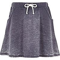 Girls grey burnout skirt