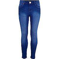 Girls bright blue skinny  jeans