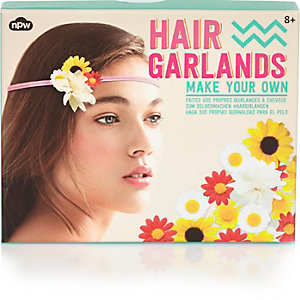 Girls make your own hair garland pack