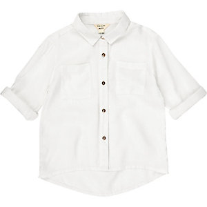 Mini girls plain shirt
