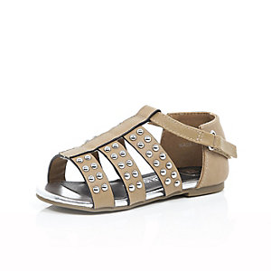 Mini girls embellished gladiator sandals